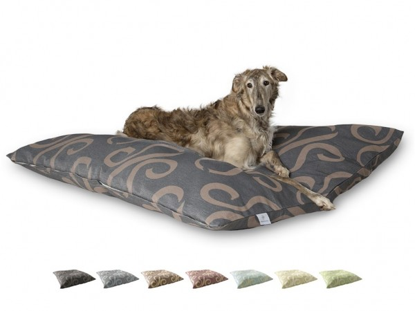 "2-in-1 Hundebett XL 135x135cm ""Große Hunde"" DARLING LITTLE PLACE im Design STATEMENT Neues Modell"