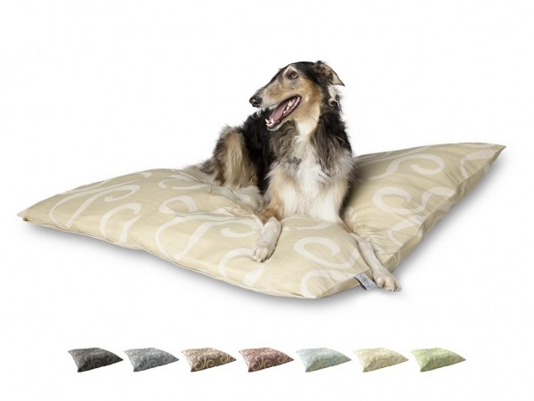 "2-in-1 Hundebett XL 135x135cm ""Große Hunde"" DARLING LITTLE PLACE im Design STATEMENT"