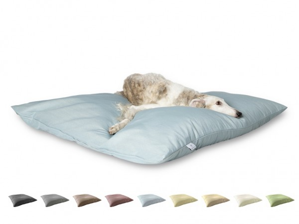 "2-in-1 Hundebett XL 135x135cm ""Große Hunde"" DARLING LITTLE PLACE im Design SOLID Neues Modell"