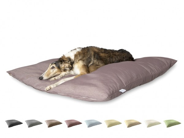 "2-in-1 Hundebett XL 135x135cm ""Große Hunde"" DARLING LITTLE PLACE im Design SOLID"