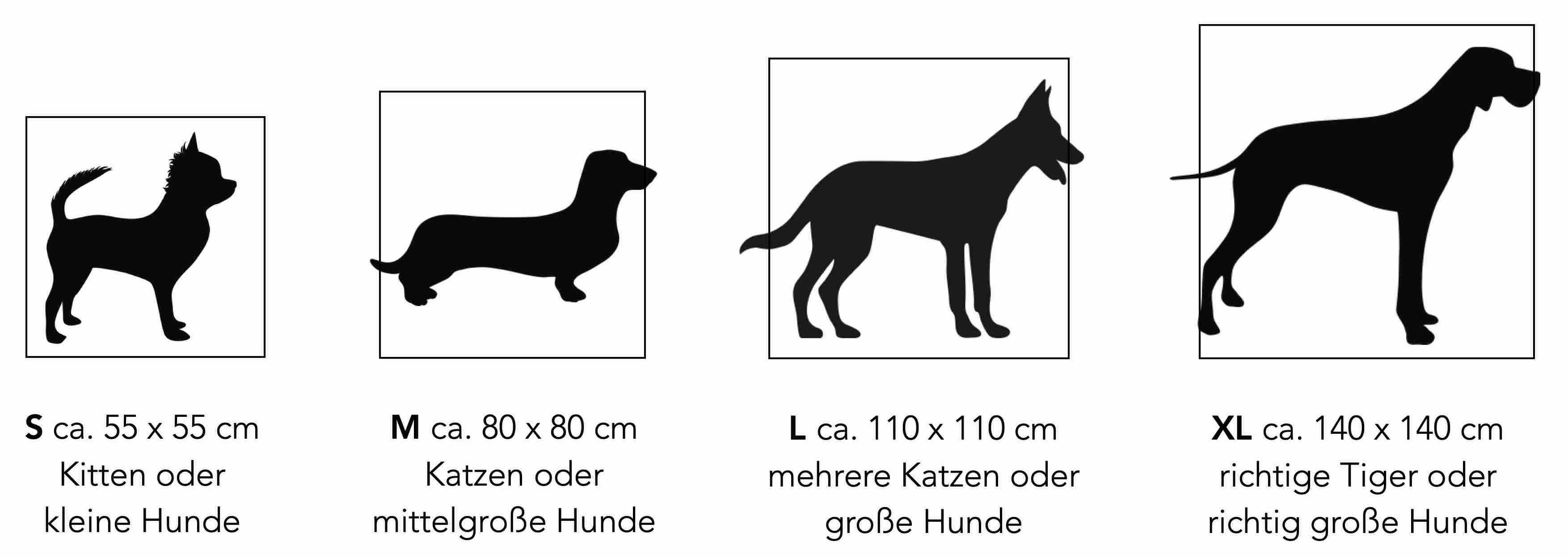 Hunde-Hund-Katze-Katzen-Groesse-Groesse-Hundebett-Hundekissen-Hundebetten-Katzenbett-Katzenkissen