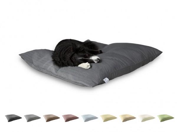 """2-in-1 Hundebett L 110x110cm """"Mittelgroße Hunde"""" DARLING LITTLE PLACE im Design SOLID"""