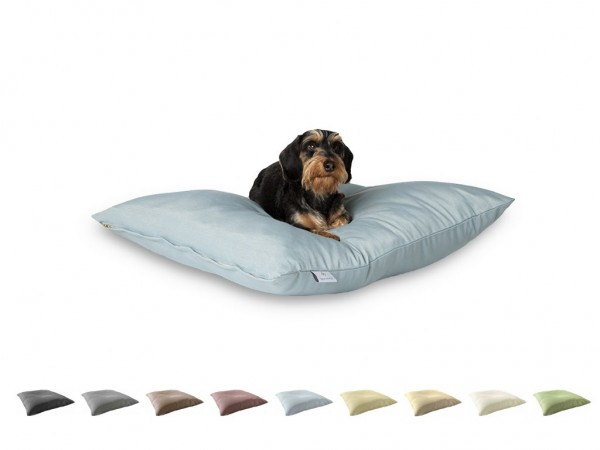 "2-in-1 Hundebett M 80x80cm ""Kleine Hunde"" DARLING LITTLE PLACE im Design SOLID Neues Modell"
